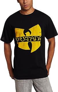 FEA Men's Wu Tang Clan Classic Yellow Logo T-Shirt