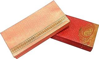 eSplanade Money Gift Envelopes - Multi Color Pack of 50 Premium Designer Envelopes