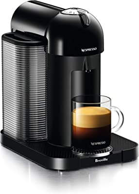 Nespresso Vertuo Coffee and Espresso Machine by Breville (Renewed) (Black)