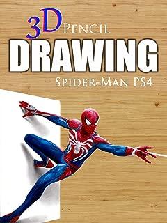 Clip: 3D Pencil Drawing: Spider-Man PS4