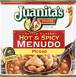 Juanita Hot and Spicy Menudo, 29.5 oz