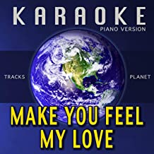 make you feel my love karaoke mp3
