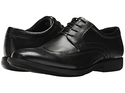 Nunn Bush Decker Wingtip Oxford with KORE Walking Comfort Technology (Black) Men