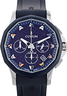 Corum Admiral Legend 42 Chronograph Watch A984/03597-984.113.22/F373 WB12
