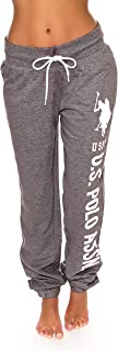 U.S. Polo Assn. Womens French Terry Jogger Lounge Sleep...