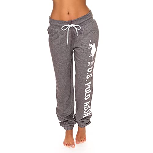 72b0a202c14 U.S. Polo Assn. Womens French Terry Jogger Lounge Sleep Sweatpants Pajamas