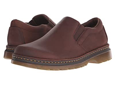 Dr. Martens Boyle Slip-On Shoe (Dark Brown Grizzly) Men