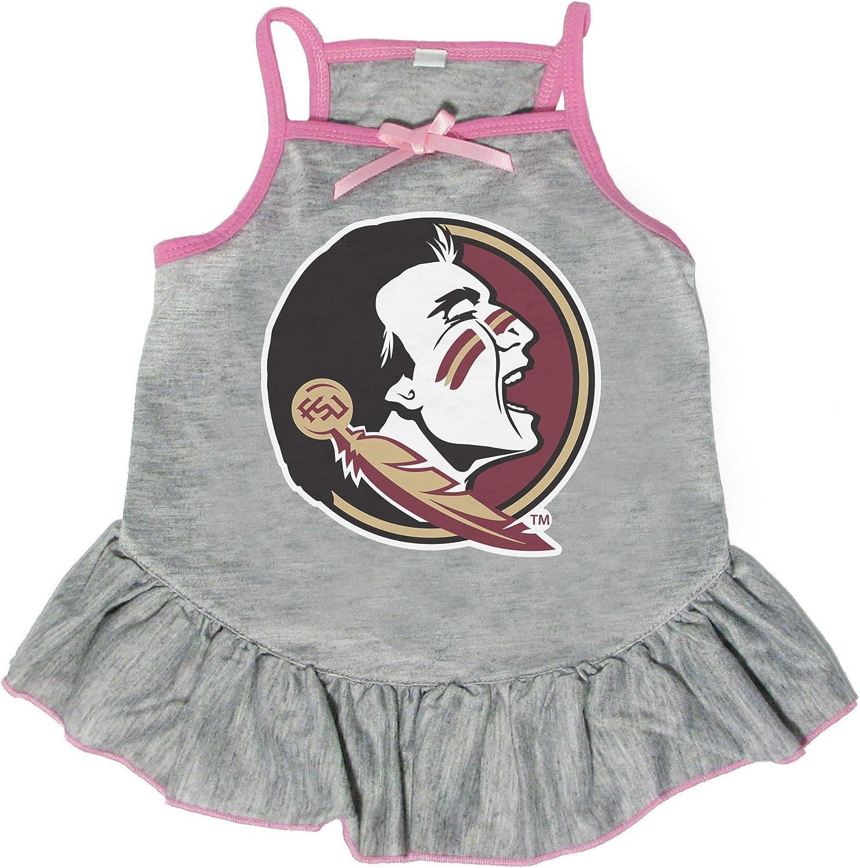 Littlearth NCAA Florida State Pet El Paso Mall Seminoles Medium Max 73% OFF Dress