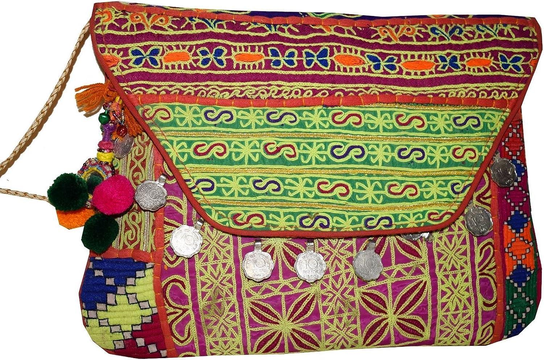 Tribal Asian Textiles , Damen Schultertasche merhfarbig B0765Y3LLT  Bestseller Bestseller Bestseller e02a93