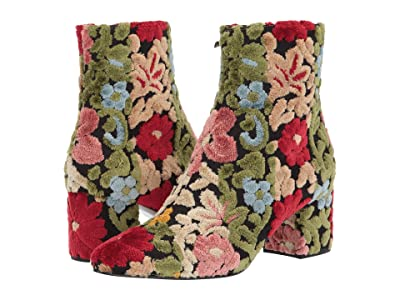 Etro Tapestry Ankle Boot (Multi) Women