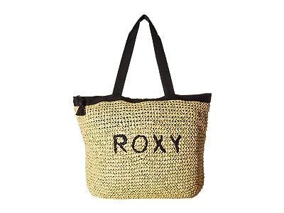Roxy Heard That Sound Tote (True Black) Tote Handbags