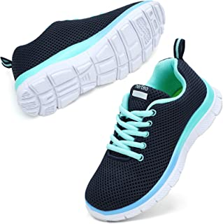nerteo Kids Sneakers Lightweight Boys/Girls Tennis Running Shoes