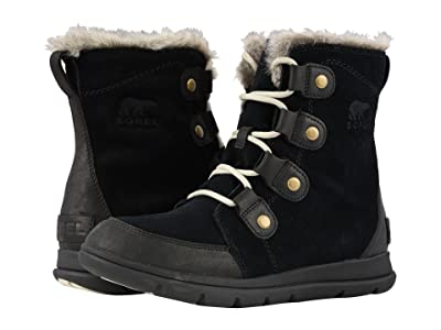 SOREL Explorer Joan (Black/Dark Stone) Women