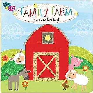 C.R. Gibson Farm Animals Board Book for Children, 7 x 7 x 0.8 inches, 1 Piece