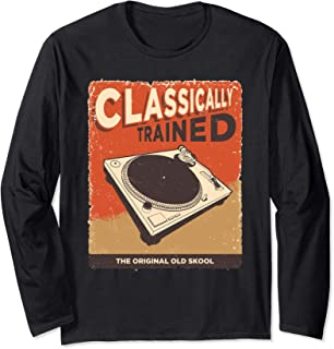 Classically Trained 1210 1200 - Turntable Long Sleeve T-Shirt