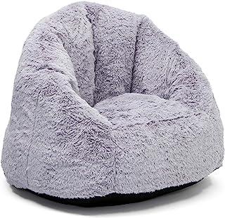 Delta Children Snug Foam Filled Chair, Grey, Tween