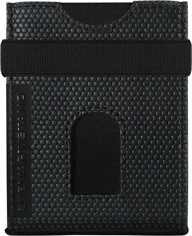 Stewart/Stand - RFID Blocking - Compact Minimalist Reversible - Slide Wallet