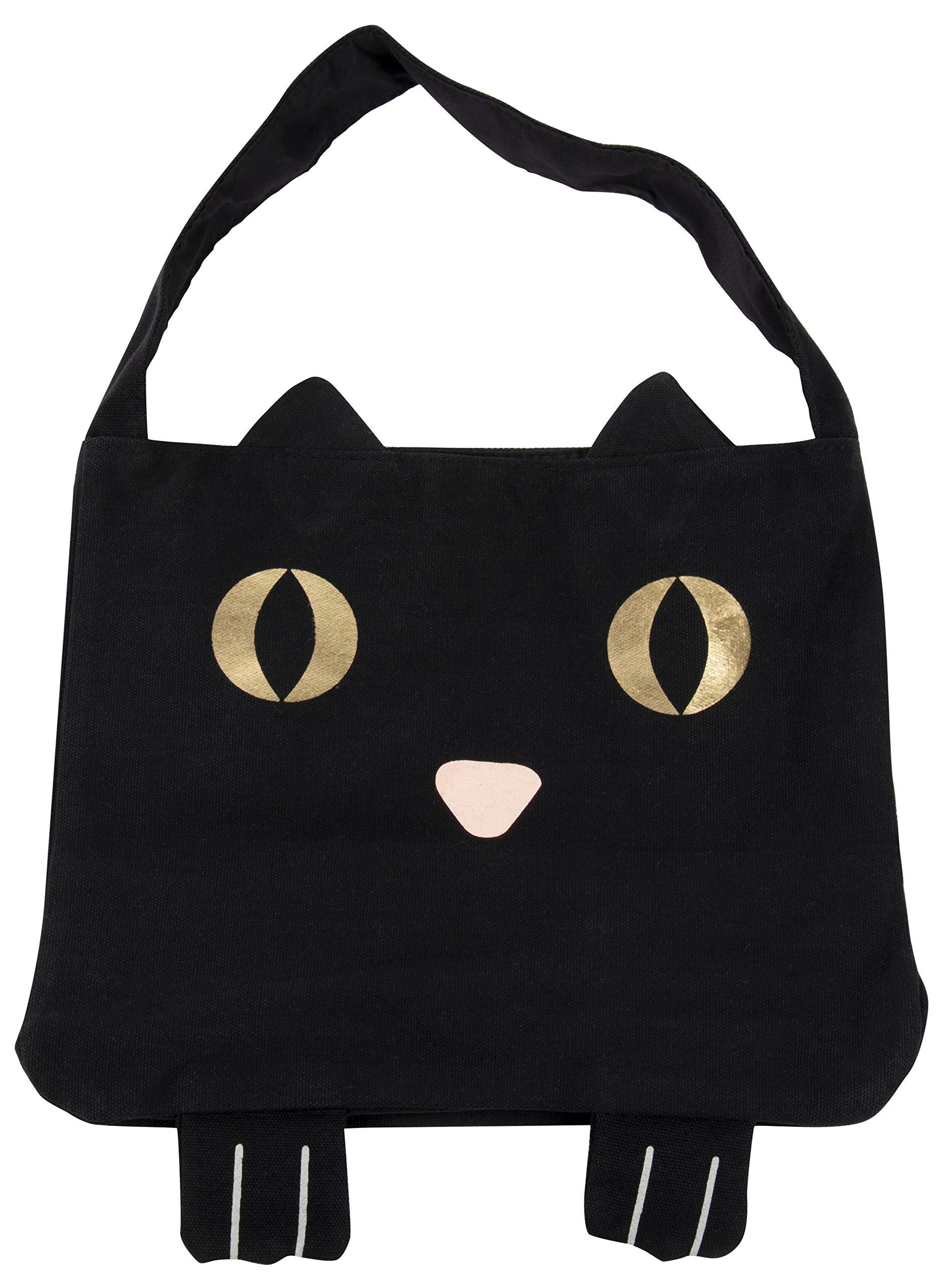 고양이 할로윈 토트백 Juvale Canvas Tote Bag - Reusable Cotton Canvas Bag