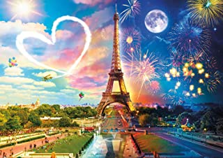 Buffalo Games - Night & Day Collection - Paris Love - 300 Large Piece Jigsaw Puzzle
