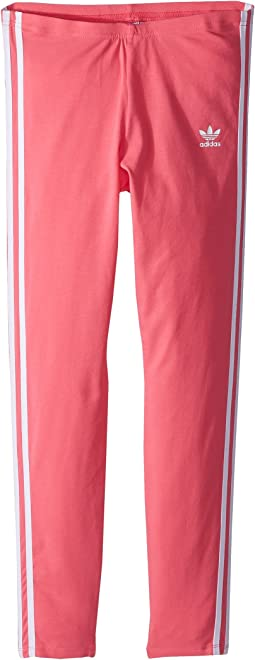 adidas Originals Kids 3-Stripes Leggings (Little Kids/Big Kids)