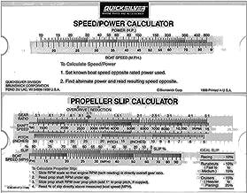 Mercury/quicksilver Prop Slip Calculator 90-86147a 1