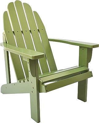 Shine Company Catalina Adirondack Chair, Leap Frog