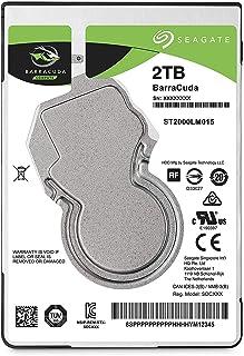قرص صلب داخلي باراكودا ساتا للاب توب من سيجيت 2 تيرابايت 2.5 انش، مكون كمبيوتر اعيد تعبئته كمنتج مستقل ST2000LM015