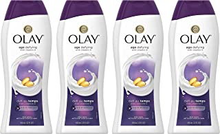 Body Wash for Women by Olay, Age Defying Vitamin E Body Wash, 22 Oz (4 Count)