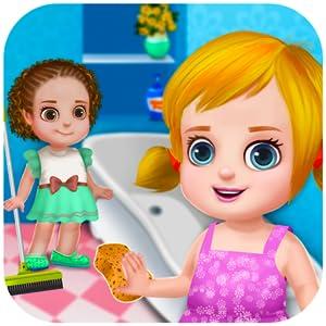 Limpieza de la casa limpiar la casa 2: juegos y actividades de limpieza en este juego para los niños y niñas - gratis