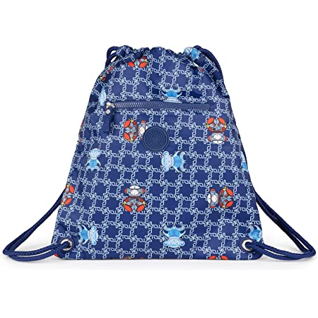 TOUS Mochila School Logogram Color Azul