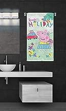 Sassoon Disney Peppa Pig Printed Microfiber Kids Super Soft Bath Towel 58 X116 cm Green