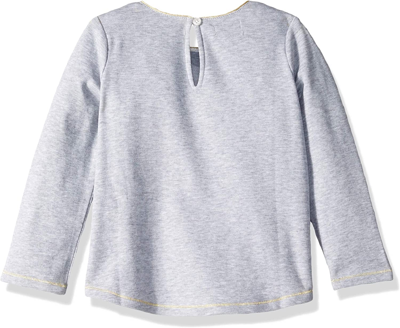 Mud Pie Girls Little Thanksgiving Turkey Long Sleeve T-Shirt
