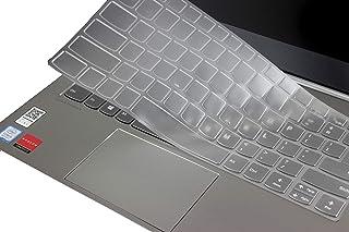 LEZE - غطاء لوحة مفاتيح رفيع للغاية متوافق مع 14 بوصة ثينك بوك 14s، 13.3 بوصة ثينك بوك 13 ثانية وكمبيوتر محمول ثينك بوك بل...
