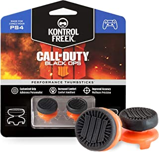 KontrolFreek Call of Duty: Black Ops 4 for PlayStation 4 (PS4) and PlayStation 5 (PS5) | Performance Thumbsticks | 2 High-...