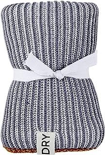 Santa Barbara Design Studio Table Sugar Woven Cotton Dish Towel, 24 x 15.5-Inch, Grey