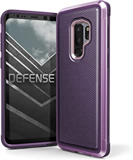 X-Doria Galaxy S9 Plus Case, Defense Lux Premium Protective Aluminum Frame Thin Design Shockproof Case for Samsung Galaxy S9 Plus, Ballistic Nylon