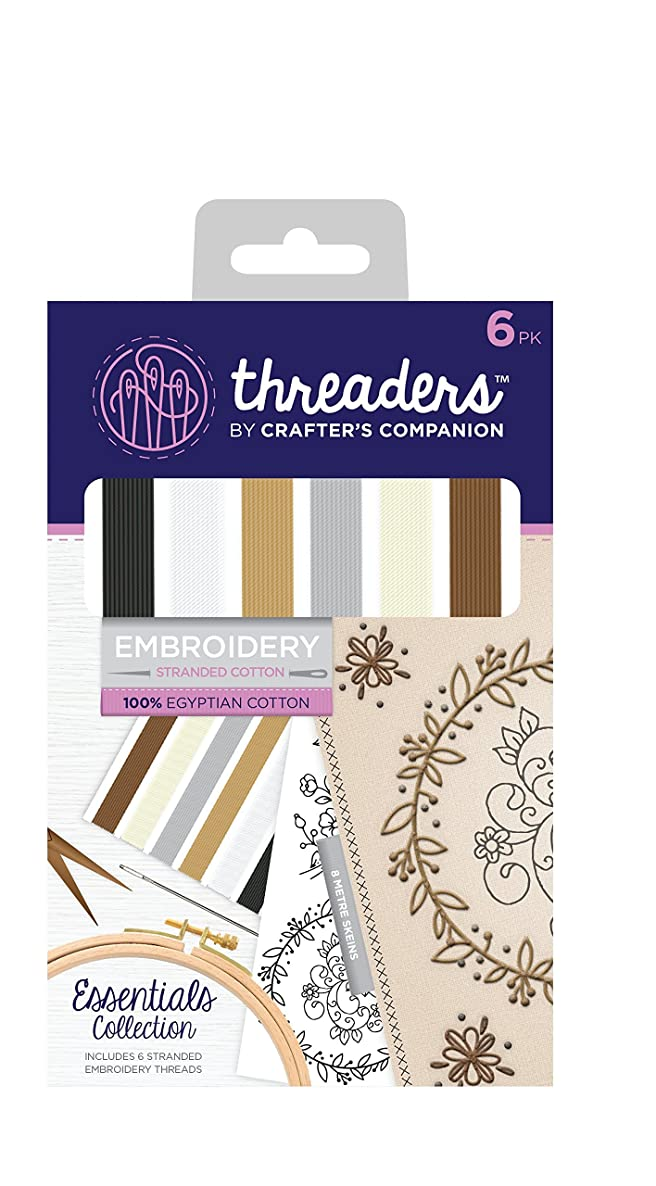 Crafter's Companion CC Threaders Embroidery Stranded Cotton Essentials