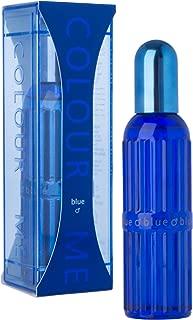 Colour Me | Blue | Eau de Toilette | Fragrance Spray For Men | Woody Aromatic Scent | 3 oz