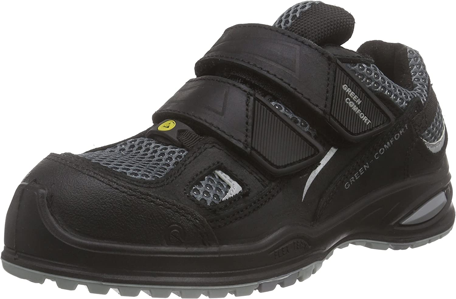 Sanita Unisex Adults' Millstone-ESD-s3 Velcro Leather shoes Safety