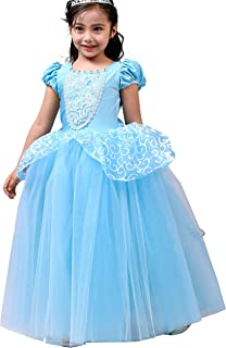 زي الأميرة التنكري للفتيات من Dressy Daisy، مقاس 2-12