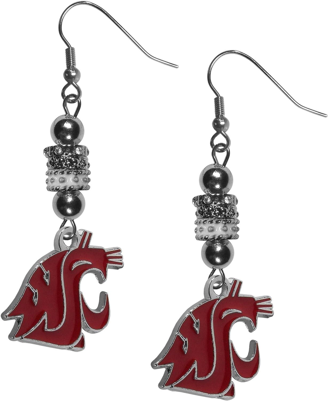 NCAA Siskiyou Sports Womens Georgia Bulldogs Euro Bead Earrings and Necklace Set One Size Team Color
