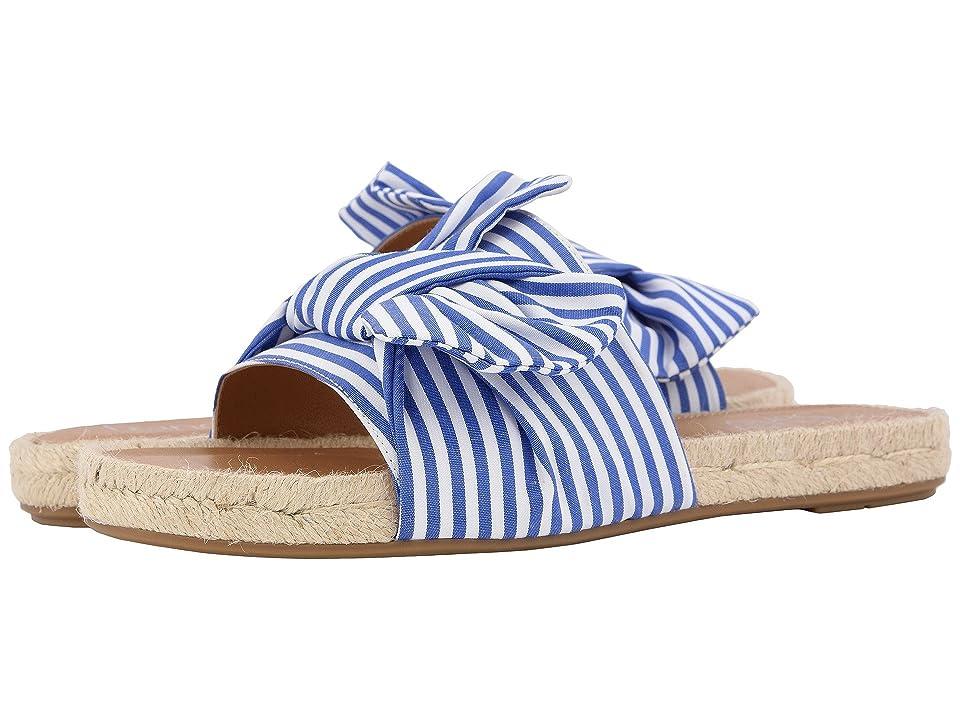 Franco Sarto Phantom (White/Blue) High Heels