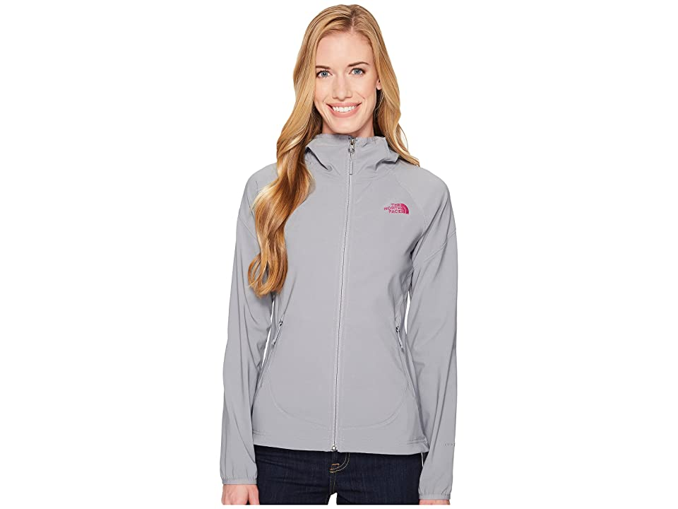 The North Face Nimble Hoodie (Mid Grey/Violet Pink) Women