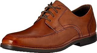 ROCKPORT Men's Formal Slayter Apron Toe Shoe, Cognac