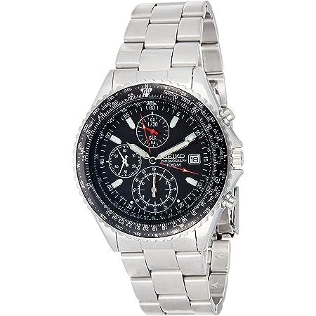 セイコー 逆輸入モデル SEIKO パイロット クロノグラフ 100m防水 ブラック SND253P1(SND253PC) メンズ 腕時計 時計 [並行輸入品]