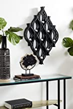 Deco 79 WALL SCONCES, Extra Large, Black