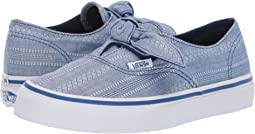 (Lace Chambray) True Blue/True Blue