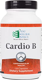 Ortho Molecular Products Cardio B, 120 Count