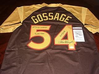 Best goose gossage jersey Reviews