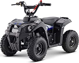 KFW G-Monster 40cc Gas Powered Kids ATV Kids 4 Wheelers Kids Quads (Blue)